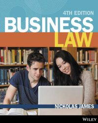 Business Law 4th Edition Nickolas James