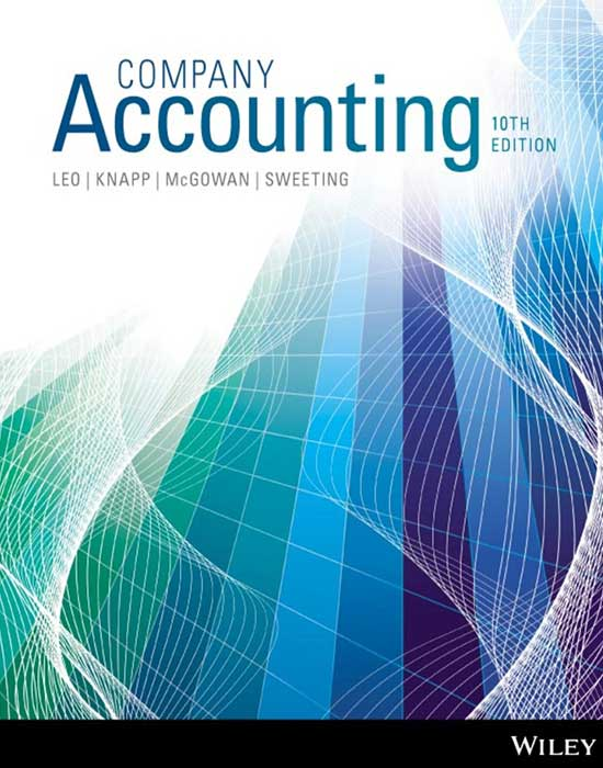 Company accounting 10th edition 65 wiley direct company accounting 10th edition ebook ken j leo fandeluxe Choice Image