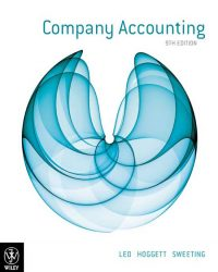 Company Accounting 9th Edition Ken J Leo