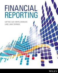 Financial Reporting 1st Edition Janice Loftus
