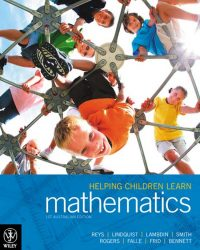 Helping Children Learn Mathematics 1st Australasian Edition Robert E Reys