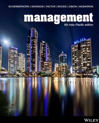 Management 6th Asia Pacific Edition John R Schermerhorn