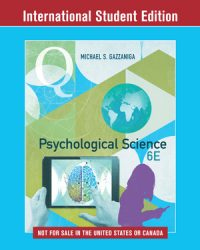Michael S. Gazzaniga Psychological Science 6th Edition